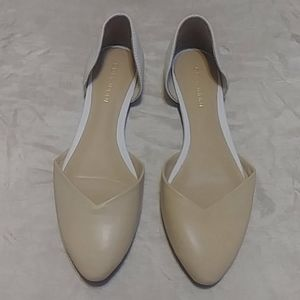 Cole Haan Crissy Skimmers Leather Flats